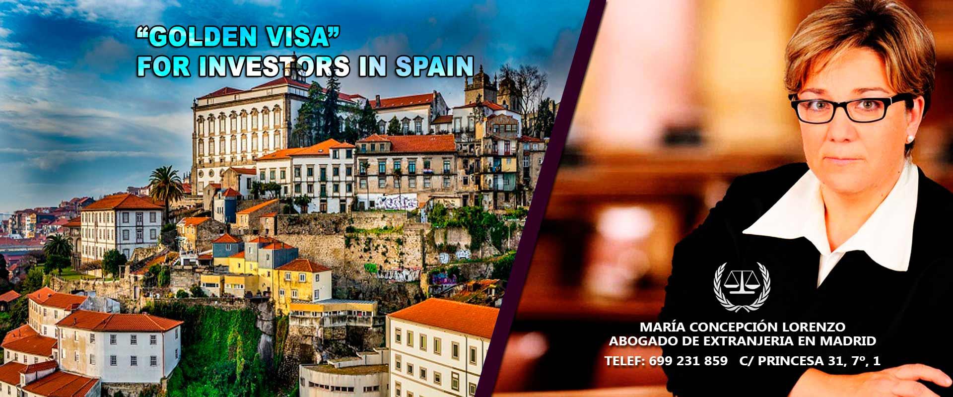 golden visa for investors in spain